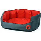 more details on Petface Oxford Medium Dog Bed - Red.