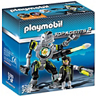 more details on Playmobil Mega Masters Robo Blaster.