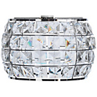 more details on Heart of House Marcello Squares Beaded Pendant Shade - Clear