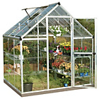 more details on Palram Harmony Silver Greenhouse - 6 x 6ft.