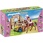 more details on Playmobil Trekking Horse with Stall.