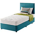 more details on Layezee Calm Micro Quilt Single Teal Divan Bed.