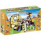 more details on Playmobil Rodeo Horse with Stall.