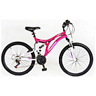 more details on Muddyfox Phoenix 24 Inch Dual Suspension Bike - Girls.
