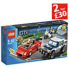 more details on LEGO City High Speed Police Chase -60042