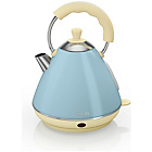 more details on Swan Pyramid Kettle - Blue.