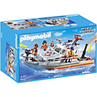 more details on Playmobil Rescue Boat with Water Hose.