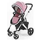 more details on Tutti Bambini Riviera Plus 3in1 Silver Pushchair - Pink/Grey