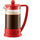 more details on Bodum Brazil 8 Cup 1 Litre Coffee Maker - Red.