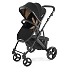 more details on Tutti Bambini Riviera Plus 3in1 Black Pushchair -Black/Taupe
