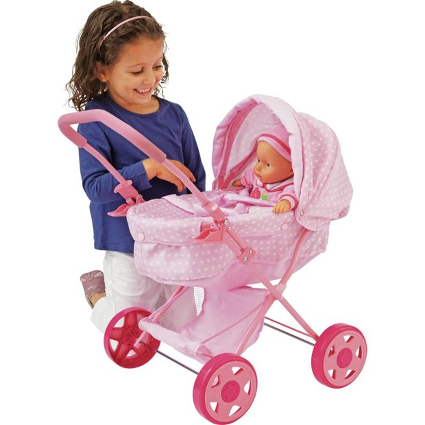 Buy Chad Valley Babies To Love My First Dolls Pram At
