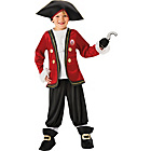 more details on Disney Captain Hook Dress Up Costume - 5 - 6 Years.