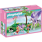 more details on Playmobil Royal Children with Pegasus Baby.