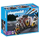 more details on Playmobil Lion Knights with Firing Crossbow.