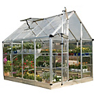 more details on Palram Snap 'N' Grow Silver Greenhouse - 6 x 8ft.