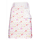 more details on Gro To Bed Cot Bed Bedding Set - Daisy Dreams.