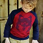 more details on Cherokee Boys' Wolf Head Sweatshirt - 9-10 Years.