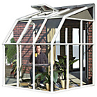 more details on Palram Rion White Sun Room - 6 x 6ft