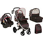 more details on Hauck Malibu XL All in One Travel System - Dots.