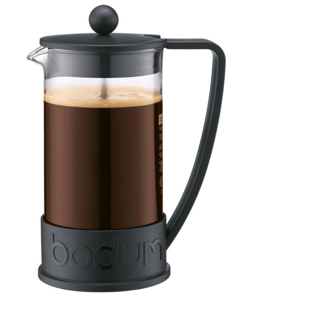 Buy bodum brazil 8 cup 1 litre coffee maker black at for Garden maker online
