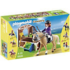 more details on Playmobil Show Horse with Stall.