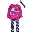 more details on Peppa Pig Girls' Tunic, Leggings and Headband Set.