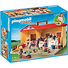 more details on Playmobil Take Along Horse Stable.