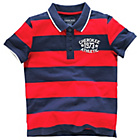more details on Cherokee Boys' Stripe Rugby Polo - 7-8 Years.