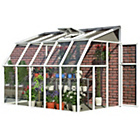 more details on Palram Rion White Sun Room - 6 x 10ft