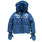 more details on Thomas and Friends Boys' Puffer Coat with Mittens -2-3 Years