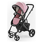 more details on Tutti Bambini Riviera Plus 3in1 Black Pushchair - Pink/Grey.