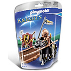 more details on Playmobil Wild Horse Tournament Knight.