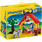 more details on Playmobil 123 Christmas Manger.