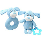 more details on Chad Valley Baby Ring and Teether Blue Puppy.