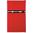 more details on Russell Hobbs RHUCFF50R Under Counter Fridge Freezer - Red.