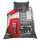 more details on London Phonebox Bedding Set - Single.