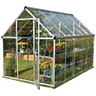 more details on Palram Harmony Silver Greenhouse - 6 x 10ft.