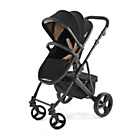 more details on Tutti Bambini Riviera Plus Black Pushchair - Black and Taupe
