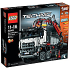 more details on LEGO Technic Mercedes-Benz Arocs 3245 - 42043