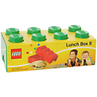 more details on Lego 8 Brick Lunch Box - Green.