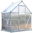 more details on Palram Mythos Silver Greenhouse - 6 x 4ft