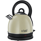 more details on Russell Hobbs Westminster Cream Dome Kettle.