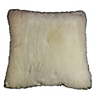 more details on Heart of House Faux Fur Cushion - Cream.