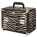 more details on SOHO Zebra Print Vanity Case.