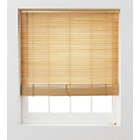 more details on HOME Wooden Venetian Blind - 4ft - Natural.