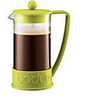 more details on Bodum Brazil 8 Cup 1 Litre Coffee Maker - Lime.
