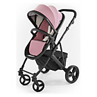 more details on Tutti Bambini Riviera Plus Black Pushchair - Pink and Grey.