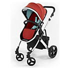 more details on Tutti Bambini Riviera Plus 3in1 Black Pushchair - Red/Aqua.