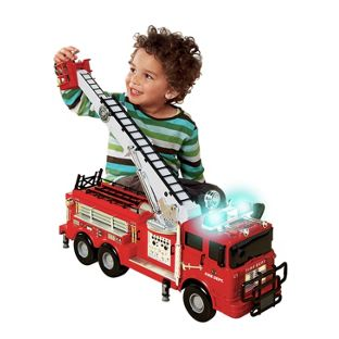 Fire Engine with Lights and Sounds