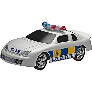 Light and Sound Police Car